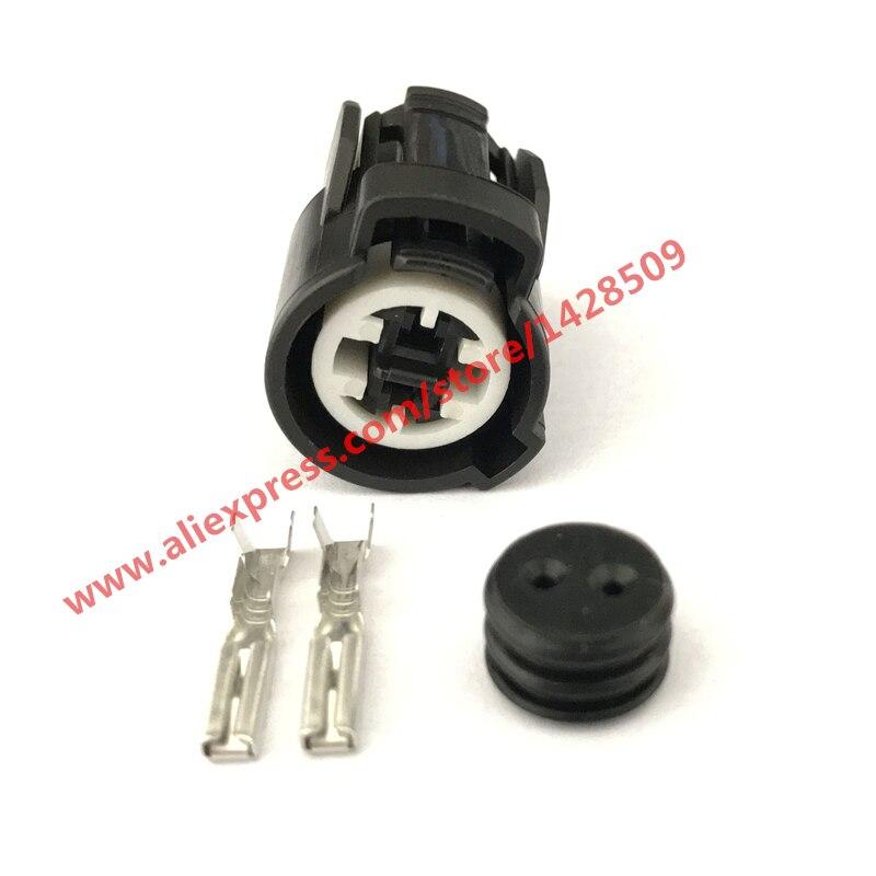 2 broches femelle 6189-0156 commutateur de pression d'huile frapper capteur connecteur de capteur de fluide de refroidissement pour Honda Acura VTEC