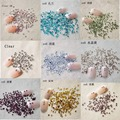 30 Colores Opcionales 1440 UNIDS/Packs ES6 1.8-2.0mm Borrar AB Glitter Hotfix Crystal AB Nail Art Decoraciones Flatback