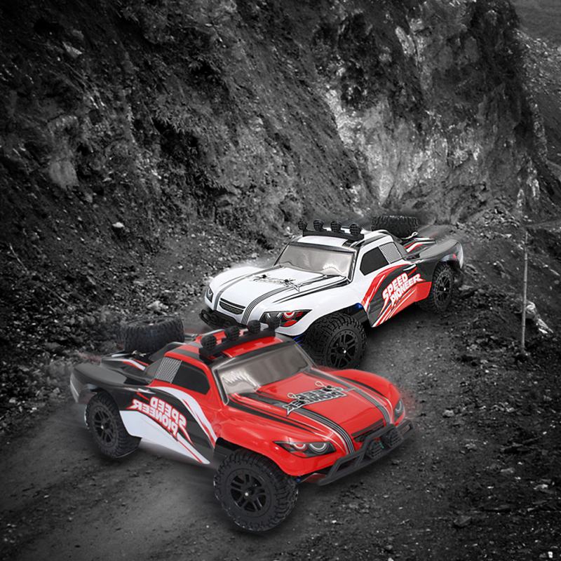 RC car 1/16 scale 2.4Ghz Remote Control high speed Truck Car RC Off Road Dirt Bike Truck Car 4WD RC Climbing car rc best gift