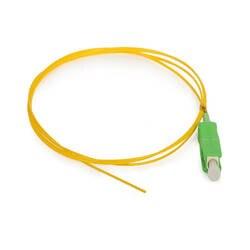50 шт., SC/APC Оптическое волокно косичка одиночный режим симплекс 0,9 мм 1,5 м, используется для FTTH проекта