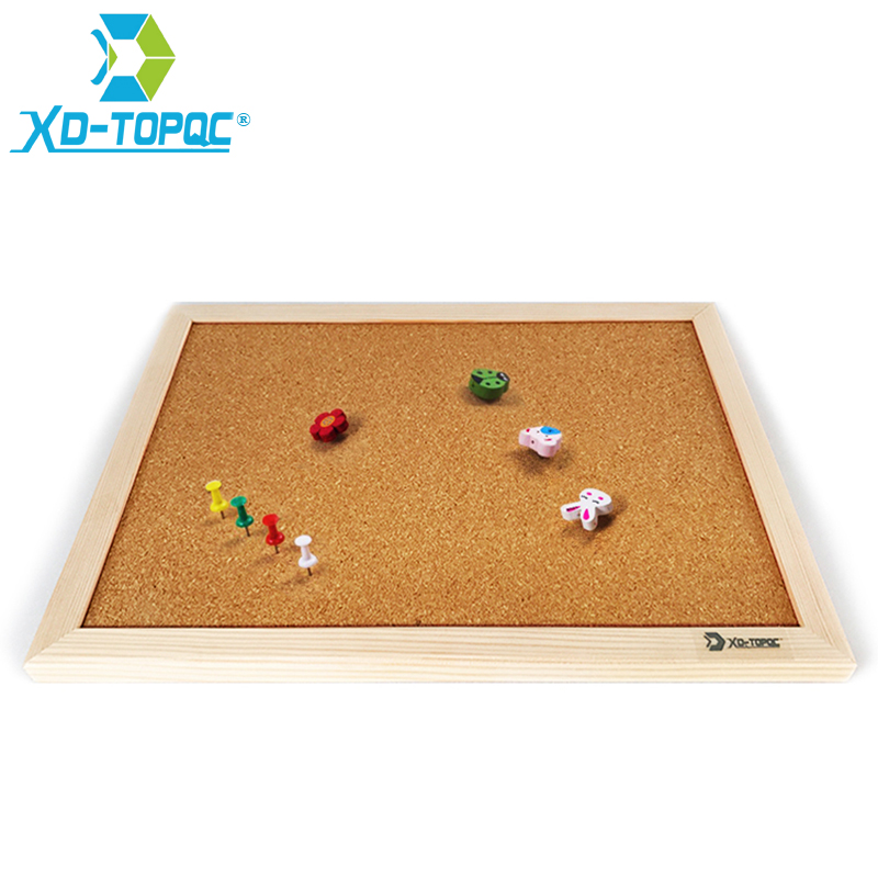 XINDI Cork Board 25*35cm Bulletin Board Message Boards Wooden Frame Pin Memo For Notes Factory Supplies Home Office Decorative 4