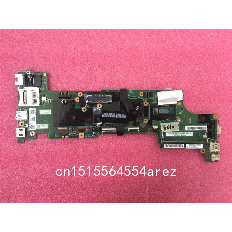 Original Laptop Lenovo THINKPAD X250 Motherboard Mainboard WIN i3 i3-5010 TPM 00HT377