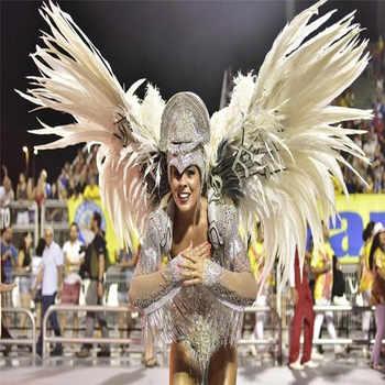 ขายส่ง 50 pcs 45-50 ซม. Silver Pheasant Tail Feathers DIY งานแต่งงานตกแต่ง lady amherst สีเขียวเงินขนไก่ plume