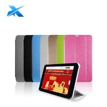 Para 7x Talk Caso Estande Da Aleta de couro de alta qualidade PU de proteção caso capa para Cubo Conversa 7X U51GT Talk7X C4 C8 tablet pc(China (Mainland))
