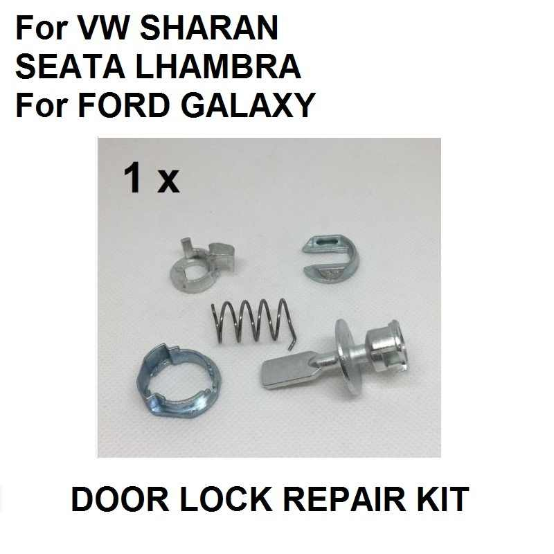 Door Lock Cylinder Repair Kit For Vw Sharan Seat Alhambra For Ford Galaxy Front Left Right Oe 6k0837223a Aliexpress