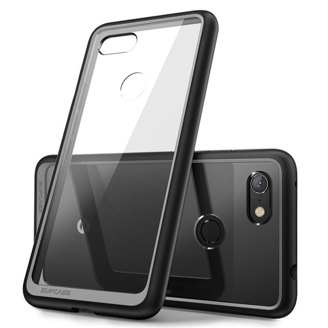 SUPCASE For Google Pixel 3a Case (2019 Release) UB Style Anti knock Premium Hybrid Protective TPU Bumper + Clear PC Back Cover