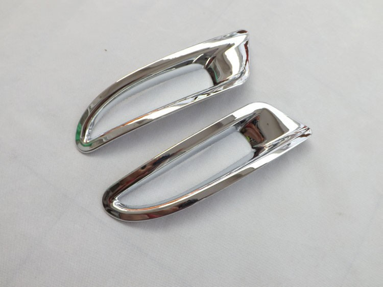 <font><b>Rear</b></font> Tail Fog Light Lamp <font><b>Cover</b></font> Trim ABS Chrome For <font><b>Mazda</b></font> <font><b>6</b></font> ATENZA 2014-16 auto accessories 2pcs image