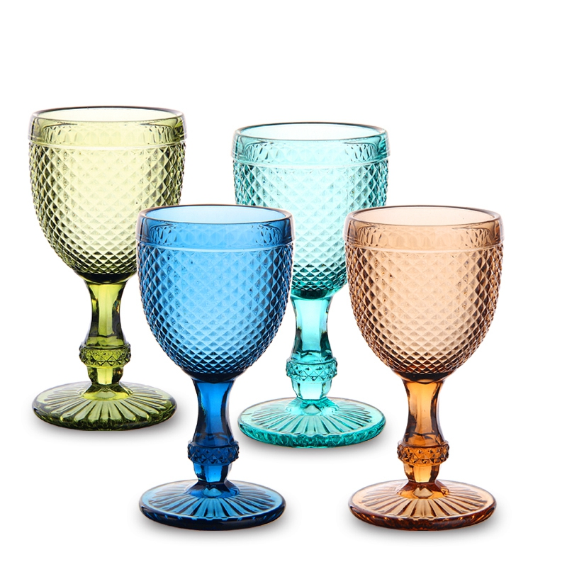 Embossing A Wine Glass