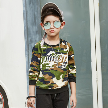 Winter Warm Hoodies For Children Plus Velvet Sweatshirts For Boys Warm Outerwear Clothes For Kids Winter Coats