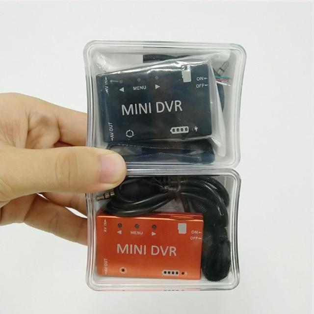 Nuevo Mini DVR HD Micro Audio grabadora de vídeo FPV batería incorporada de 3,7 V 400 mah para multicópters de carreras RC gafas VR