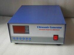 50KHZ 600W Generator ultradźwiękowy wysokiej częstotliwości  przetwornik ultradźwiękowy 50khz w Części do myjek ultradźwiękowych od AGD na