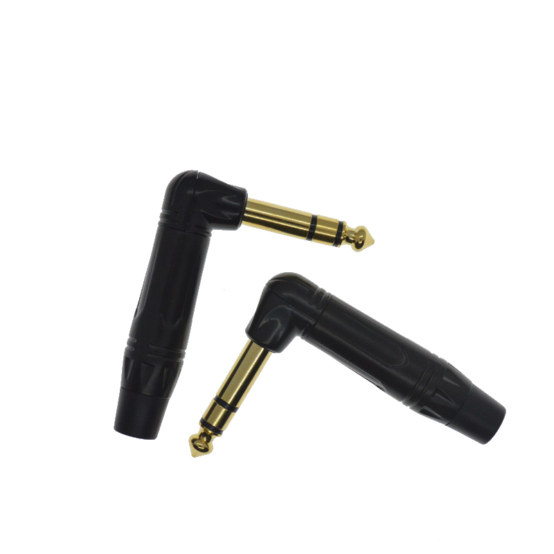 HiFi Quality 6.5/6.3/6.3mm stereo Connector Plug Repair Headphone Jack  Audio Connector Plug Plugs For stereo Headset Headphone