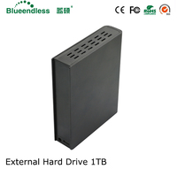 all metal sata to usb 3.0 hdd box 3.5 hdd case externo aluminum hdd enclosure sata high speeds external hard drive 1TB HDD