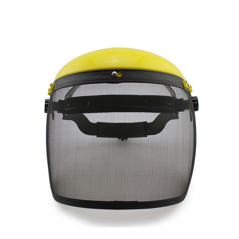Safety Face Mask Protective Helment Mesh Chainsaw Safety Helmet Forestry Visor Protection Labor Gardening mask Protection chainsaw safety helmet w visor face protector hat eye protection free shipping outdoor brushcutter guard trimmer shield
