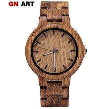 15f3281841a GNART Madeira Relógio para Homens Carnaval Relógios Esportivos Relógios De  Madeira Relógio Dos Homens do Sexo