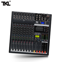 TKL 8-channel Digital Mixer Professional Audio Sound Mixing Reverb And Effects Bluetooth 2USB DJ Mixers