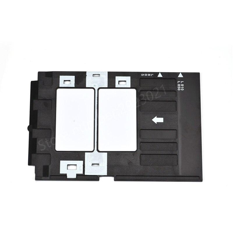 PVC ID Card Tray Plastic card Printing Tray for Epson T50 R270 P50 L800 L801 R330 R260 R265 R280 R290 R380 R390 RX680 T60 A50PVC ID Card Tray Plastic card Printing Tray for Epson T50 R270 P50 L800 L801 R330 R260 R265 R280 R290 R380 R390 RX680 T60 A50