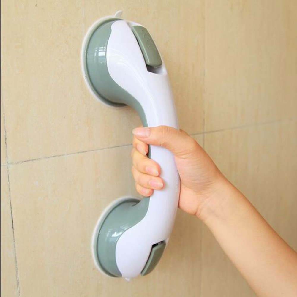 Bathroom Anti Slip Strong <font><b>Suction</b></font> <font><b>Cup</b></font> Handle For Toilet Shift Knob Door Shake Big <font><b>Suction</b></font> Wall <font><b>Mounted</b></font> Armrest Bathroom <font><b>Grab</b></font> <font><b>Bar</b></font>