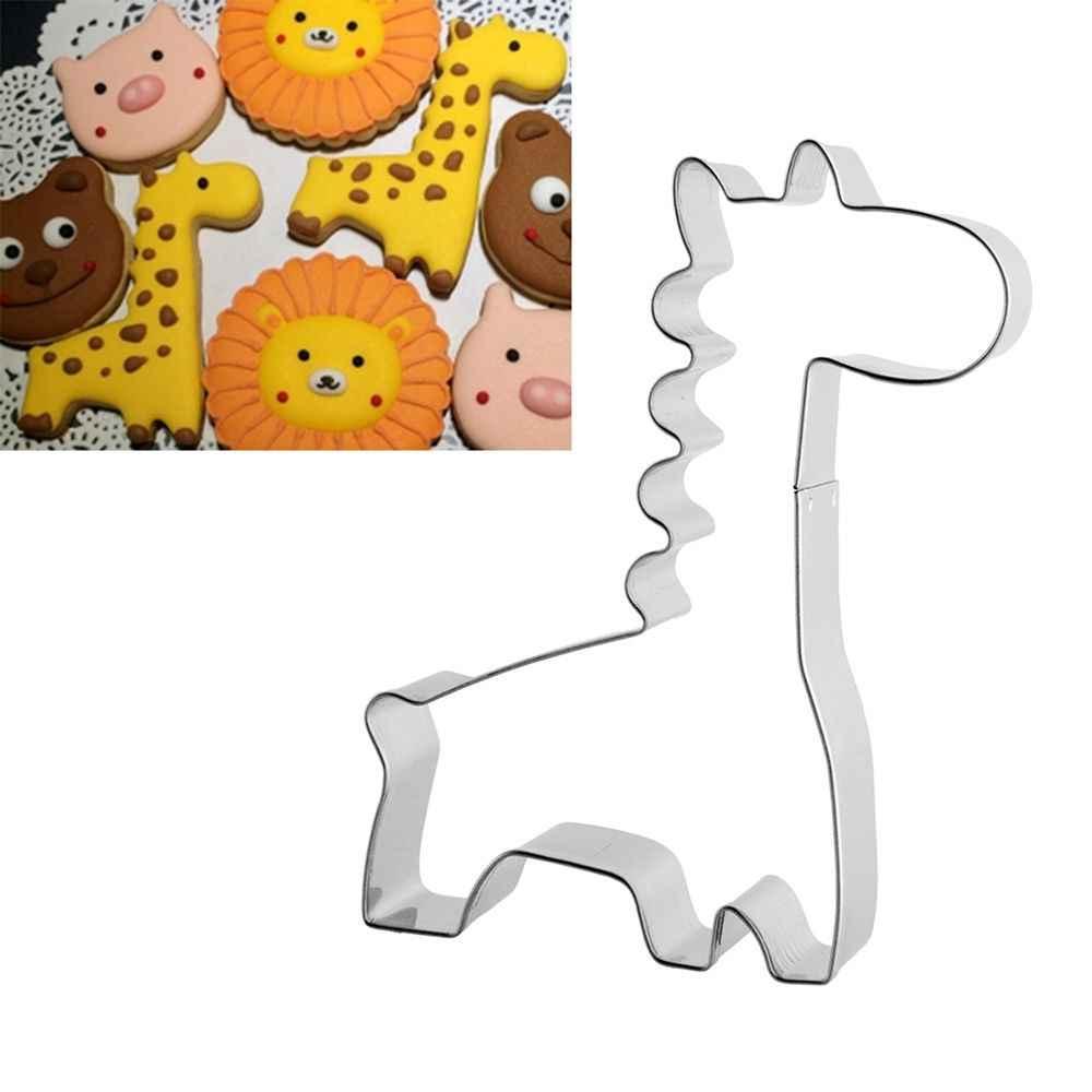 Neue Viele Stile Cartoon Tier Katze Elefant Formen Cookie Cutter Food Grade Edelstahl Keks Form Backen werkzeuge Home kitch