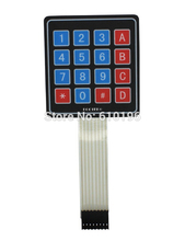 10PCS/LOT 4 * 4 Matrix Keyboard 16 Key Membrane Switch Keypad For Arduino