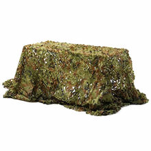 2X3M/2X4M/3X3M/3X4M Hunting Camping Camo Net Woodland Leaves Camouflage Net Jungle Leaves Camo Net For Military Car Shade Cloths(China)