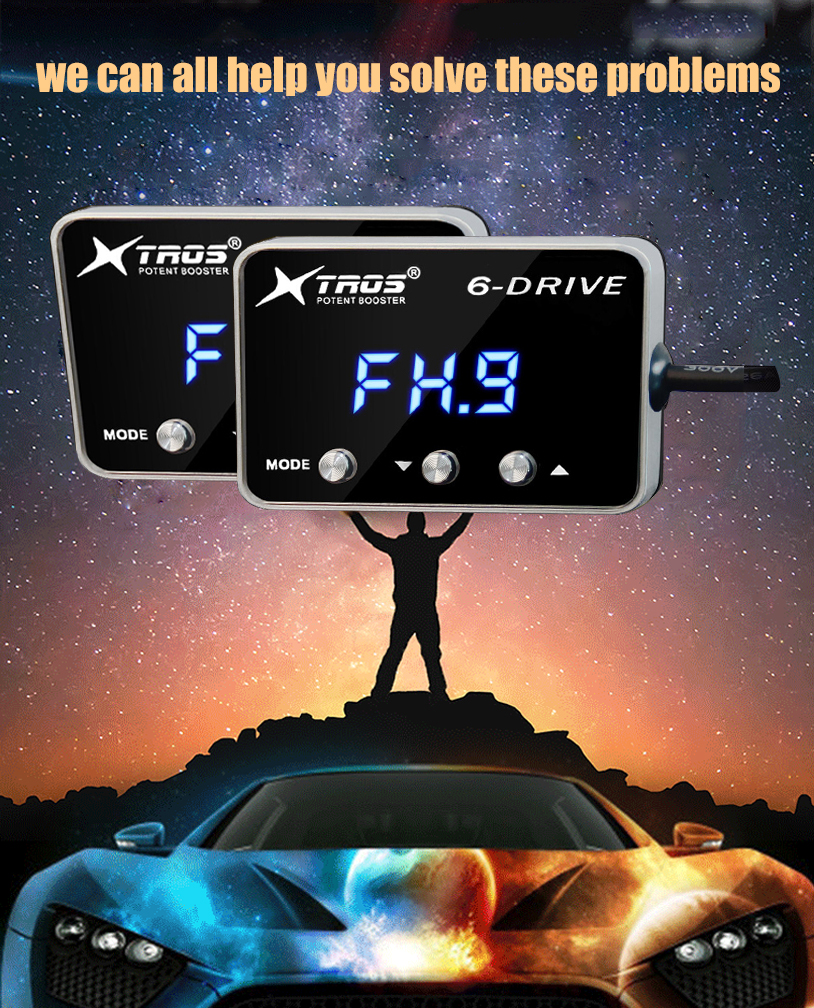 Car Electronic Throttle Controller Racing Accelerator Potent Booster (15)