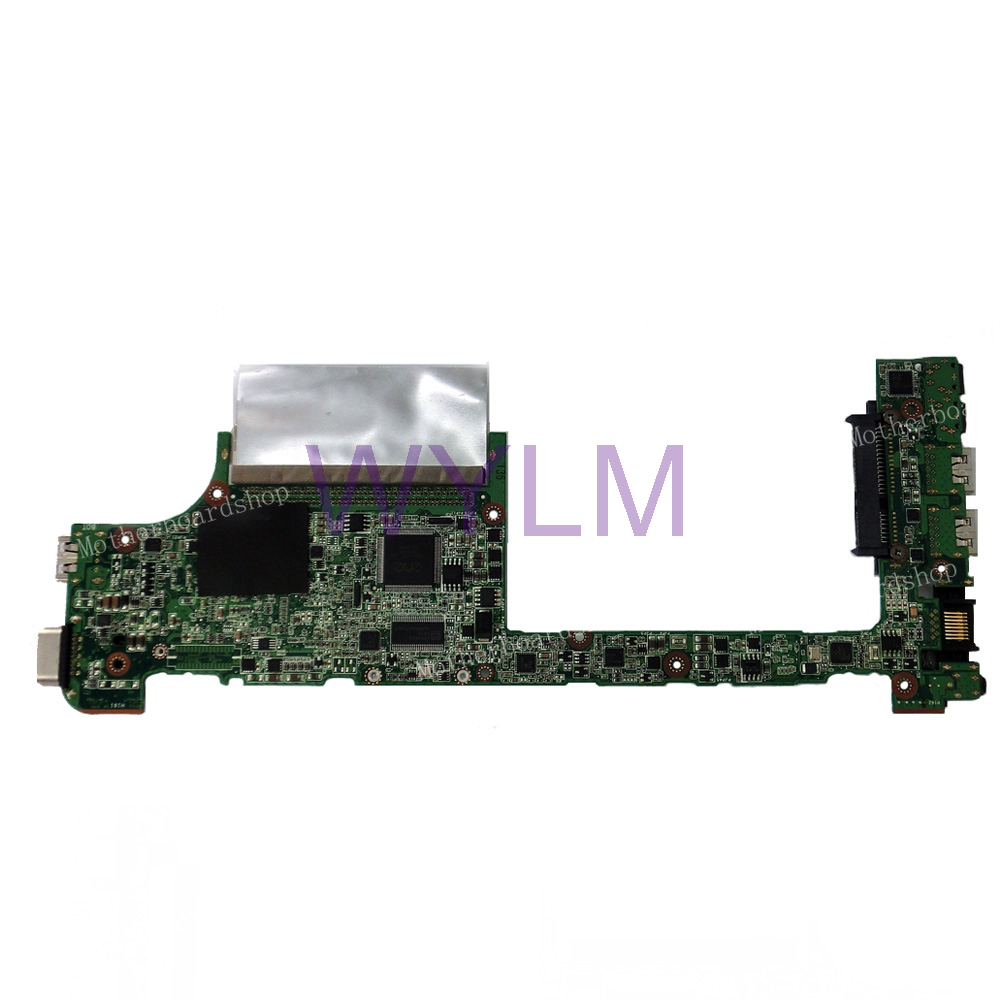 1018P motherboard Atom N570 For ASUS 1018P Laptop mainboard REV 2.1 100% Tested Working Well Free Shipping original d945gclf atom 230 1 6g 17x17 pos machine desktop board well tested working