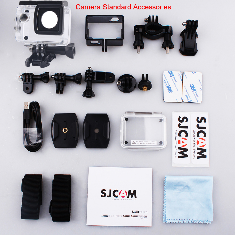 Instructions on how to set up a sjcam sj 4000 - Aliexpress Com Buy 100 Original Sjcam Sj4000 Series 2 Screen Sj4000 Sj4000 Wifi 1080p Hd 30m Waterproof Diving Sports Action Camera Car Mini Dvr From
