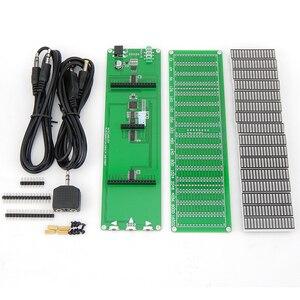 Image 4 - HIFI DIY 레벨 LED 음악 스펙트럼 분석기 오디오 레벨 VU 미터 MP3 PC 앰프 오디오 표시기 속도 조절 가능 AGC