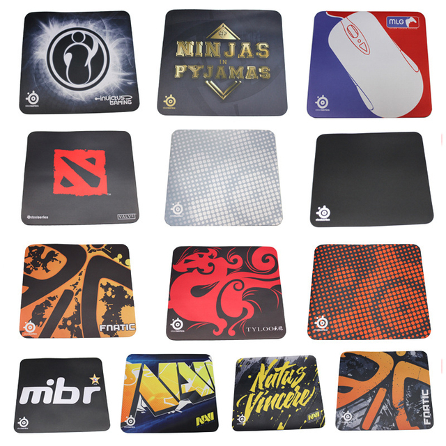 Wholesale 5PCS/ LOT XL Large Size Speed Control SteelSeries QCK Gaming Surface Mouse Pad Mat Unlocked 450*400*4MM