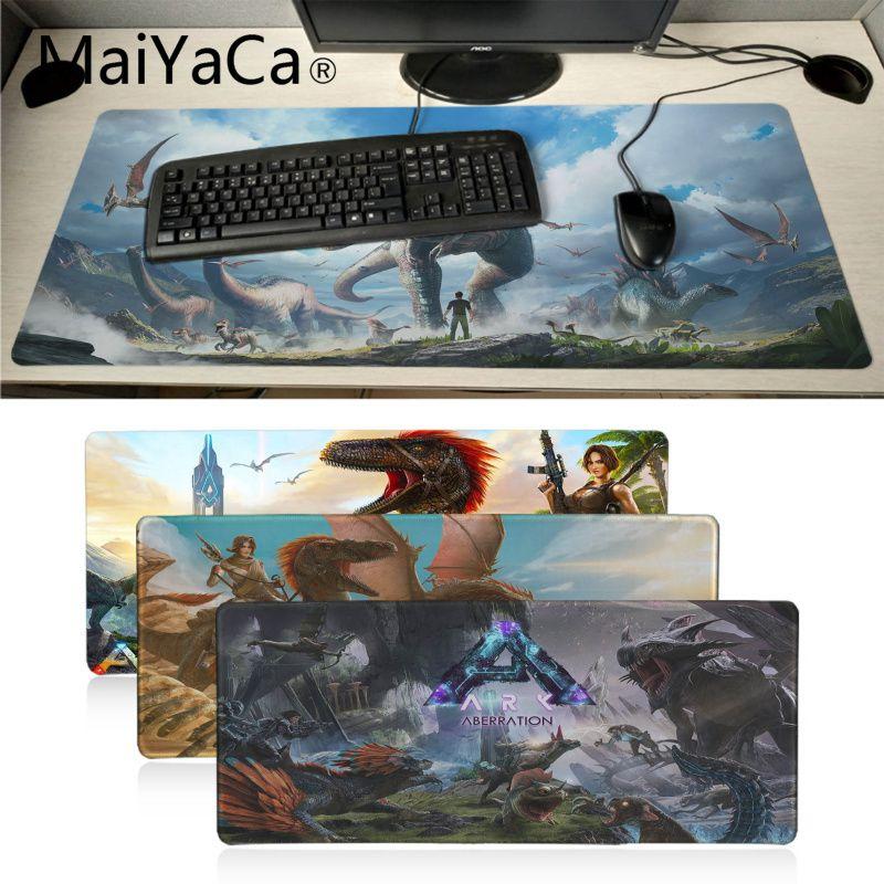 Maiyaca My Favorite Ark Aberration Natural Rubber Gaming Mousepad Desk Mat Game Player Desk Laptop Rubber Mouse Mat Gaming