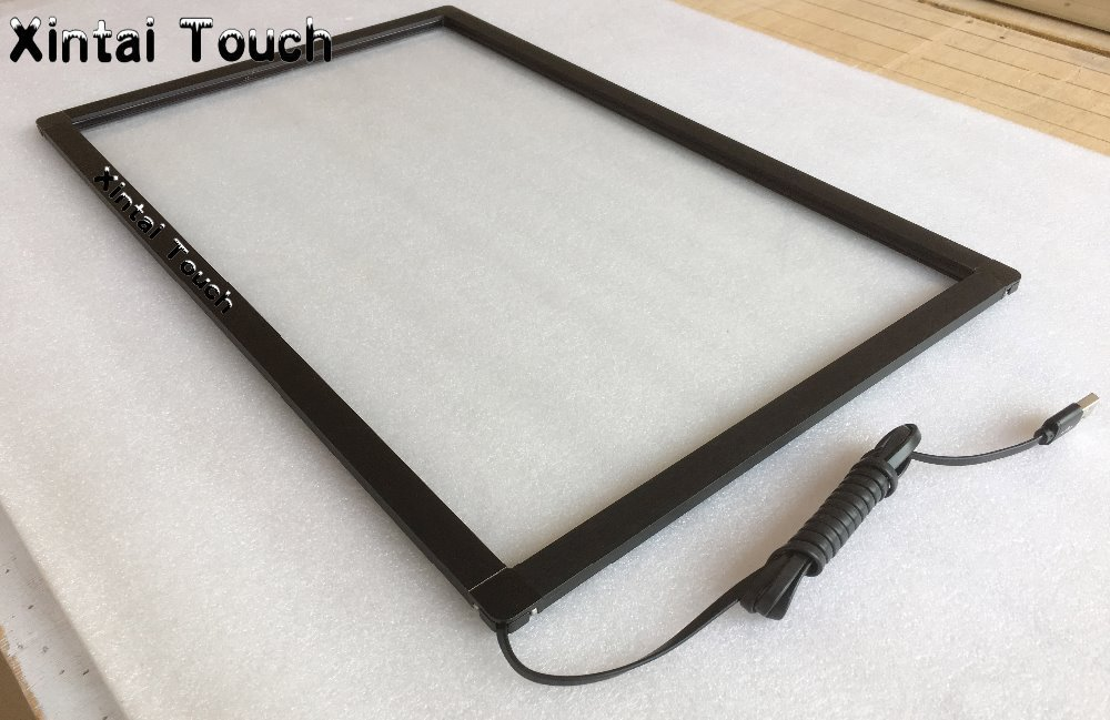6 real touch points 40 inch multi touch screen panel kit, infrared touch screen frame