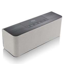 NBY 5540 Wireless Speaker Portable Bluetooth Speaker Stereo Sound 10W System Music Subwoofer Column Support Tf Card Fm for Phone