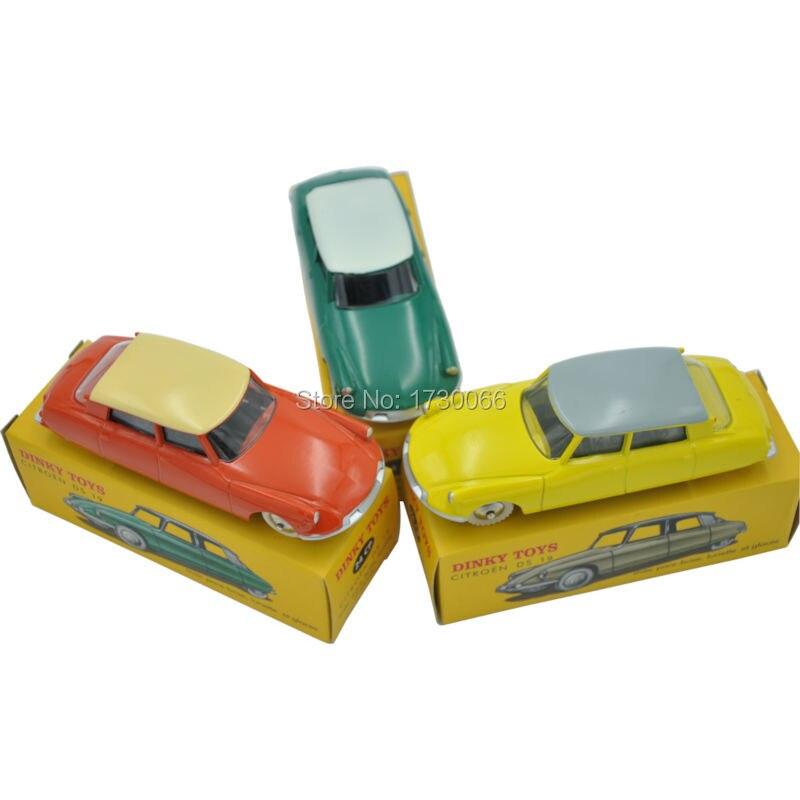 3 colors Atlas DINKY TOYS 24CP 24 CP CITROEN DS 19 avec pare brise lunette et