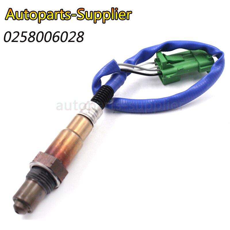 Zuurstof Sensor Fit Voor Peugeot 106 206 Citroen C2 C3 C4 Fiat Lancia 0 258 006 028 0258006028 Talrijke In Verscheidenheid