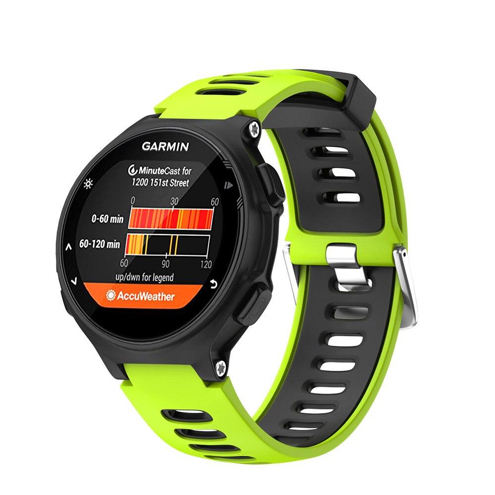 Outdoor Sport Silicone Band Strap For Garmin Forerunner 235 220 230 620 630 735XT Soft Silicone Watch Band For Garmin Forerunner