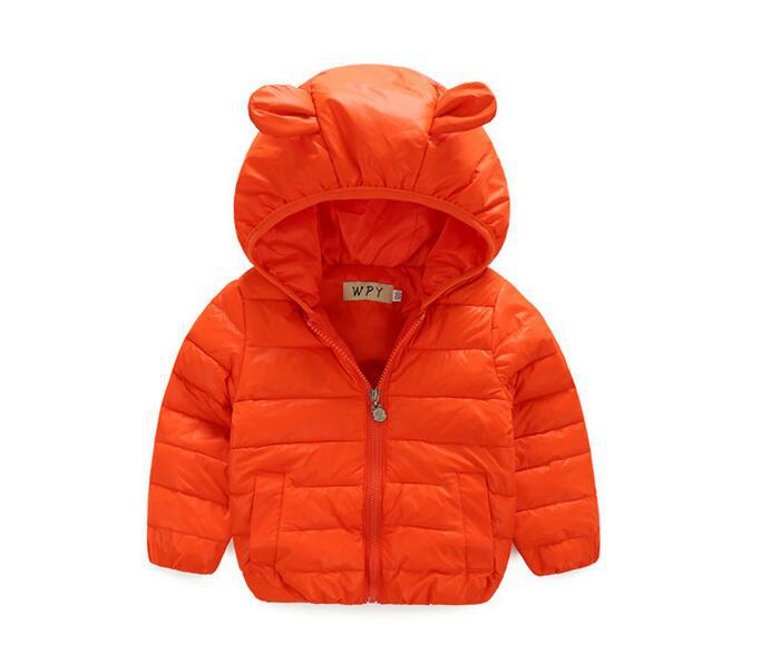 New Boys Jacket 2016 Winter Down Jacket of Girl Jacket Casual Hooded Jacket Kids Outerwear Coat Warm Children's Clothes