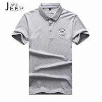 ג 'י פו של איש הקיץ הסיטונאי 2017 טהורה מוצקה באיכות גבוהה חולצת פולו כותנה, לבן/אפור El ocio דה לה camiseta חולצת גברים פולו