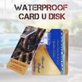 Tarjeta de Crédito personalizada 16 GB 32 GB USB Flash Drive Pen Drive Pendrive 4 GB 8 GB Memory Stick U Disco Tarjeta de Memoria Flash de Almacenamiento Externo Usb