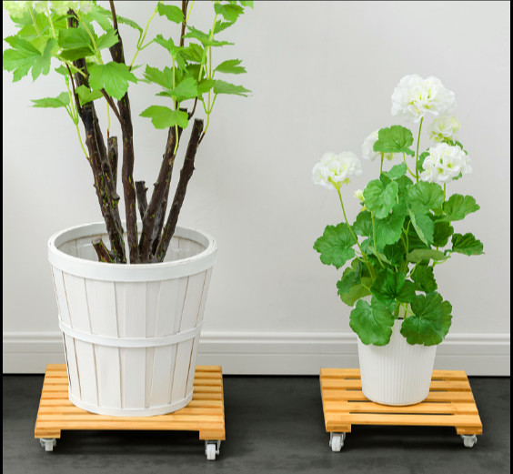 deal indoor plant stand plant shelf rack home decorative flower display holder flower bowl rack with removeable wheel цена и фото