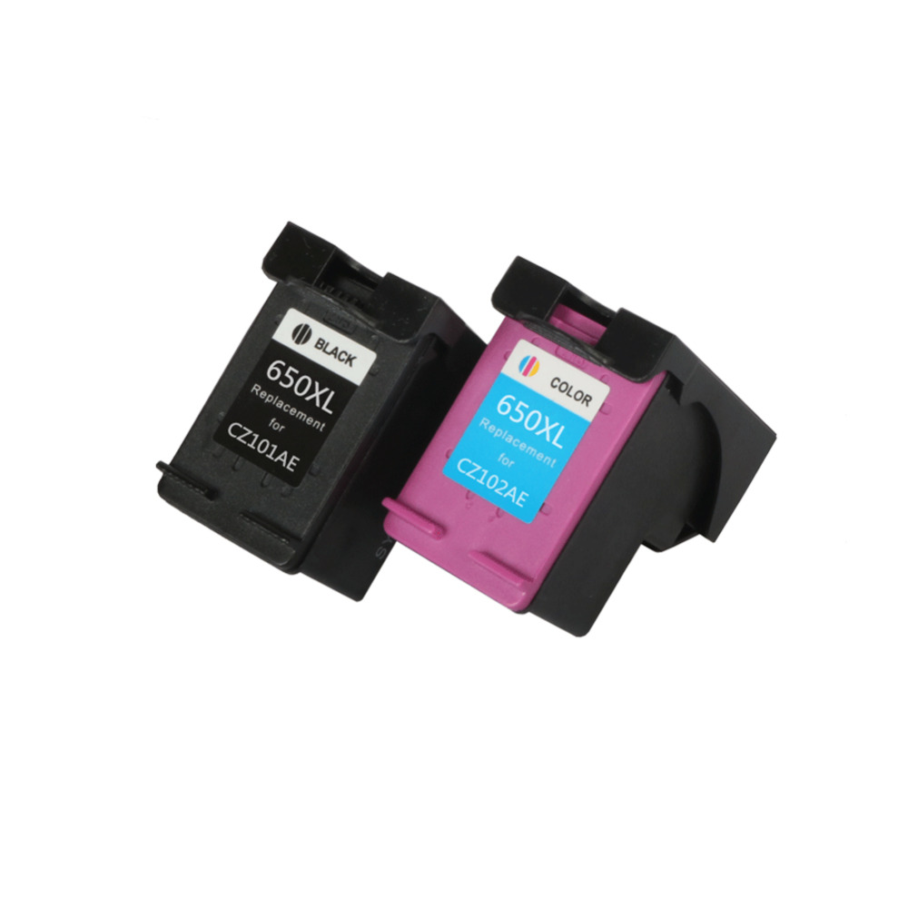 все цены на YLC 1set 650XL Compatible Ink Cartridge for HP650 650XL for HP Deskjet Advantage 1015 1515 2515 2545 2645 3515 printer онлайн