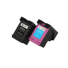 YLC 1 комплект 650XL совместимый чернильный картридж для hp 650 650XL для hp Deskjet Ink Advantage 1015 1515 2515 2545 2645 3515 принтер