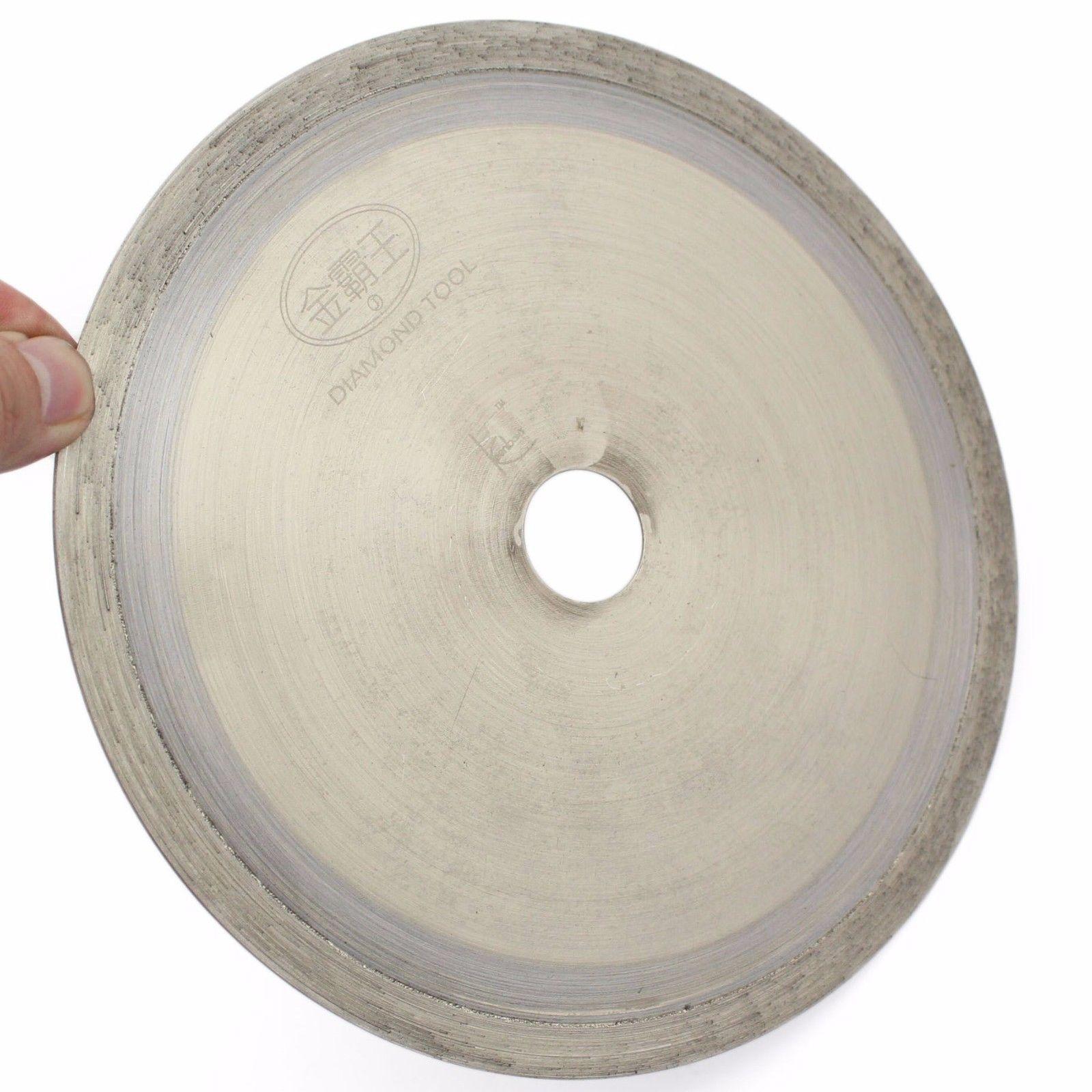 8 inch SINTERED Diamond Lapidary Saw Blade Tools Slab Trim Arbor 1-1/4 Gemstone ILOVETOOL 6 inch lapidary concave arc diamond coated grinding wheel grind spherical 6 mm ilovetool