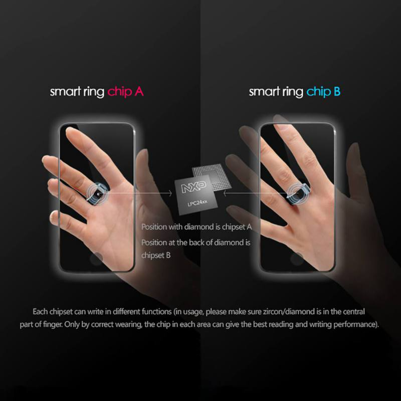 R3 R3F MJ02 New Technology Magic NFC Smart Rings 19