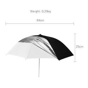 "Image 2 - Godox 33"" 84cm Translucent Black White Umbrella Double Layers Reflective for Studio Flash Strobe Lighting"