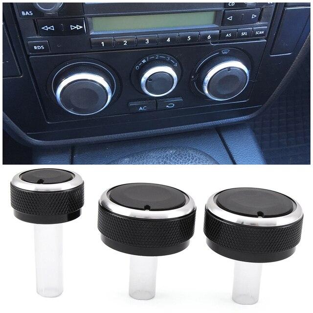 تكييف الهواء التحكم في الحرارة مقبض مفتاح التشغيل التيار AC المقبض ل Volkswagen VW GOLF 4 MK4 جولف IV بورا باسات B5 لوبو لسكودا اوكتافيا MK1