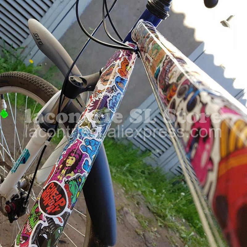 50 قطعة فاسق مثير ملصقات ل حقيبة سكيت محمول هاتف محمول دراجة نارية دراجة سيارة اكسسوارات مختلط بارد ملصقات