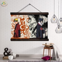 Animation Naruto Picture Modern Wall Art Print Pop And Poster Frame Hanging Scroll Canvas Painting Home Decor