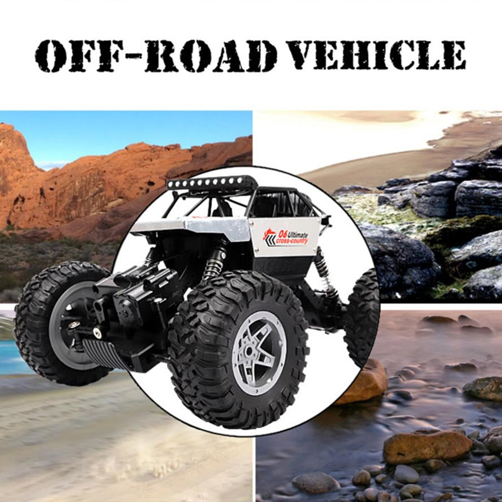 Image 5 - RC Car 2.4G 4CH Rock Crawlers Driving Car Drive Bigfoot Car Remote Control Car Model OffRoad Vehicle Toy wltoys drift-in RC Cars from Toys & Hobbies