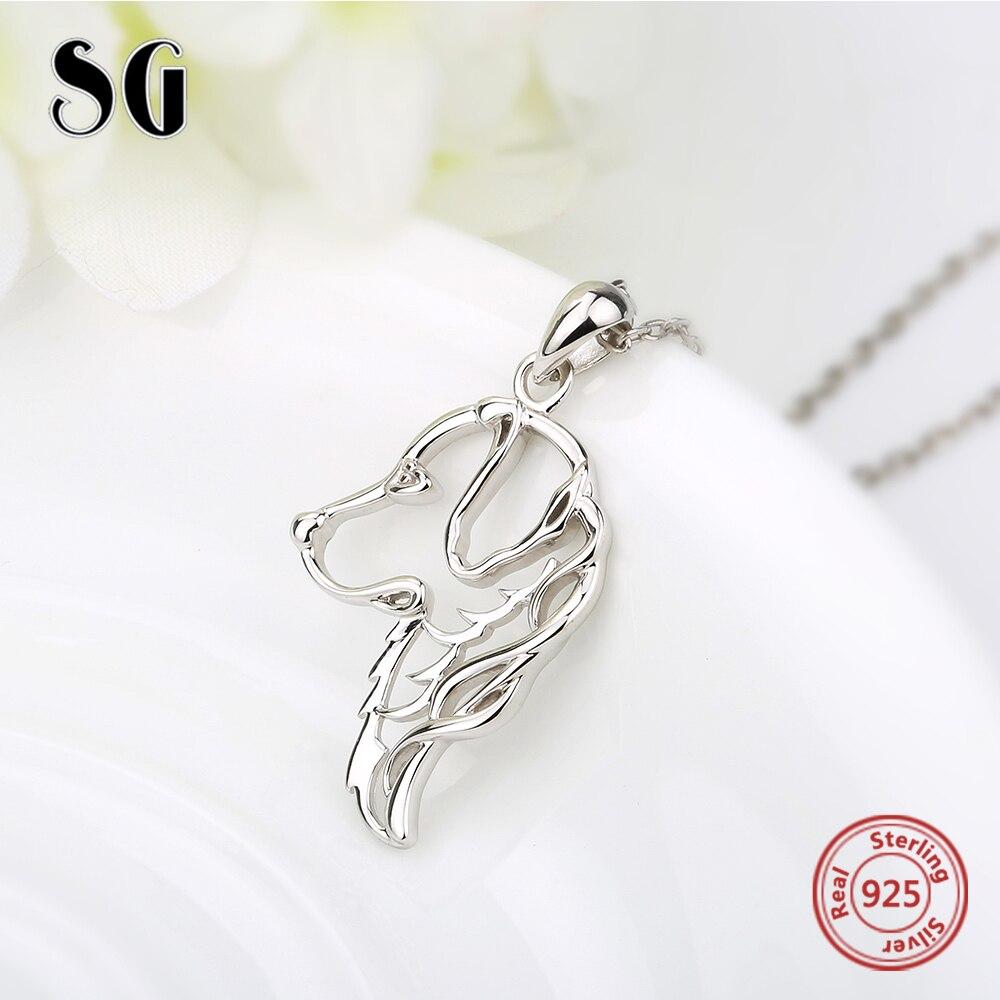 Cadena de joyería de plata de ley 925 Cadena de perro colgante - Joyas - foto 3